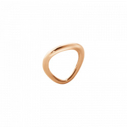 GEORG JENSEN OFFSPRING RING - 18 KT ROSA GULD - STR 48-59
