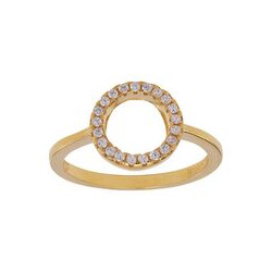 JOANLI NOR - FORGYLDT RING ANNANOR 10 MM