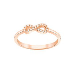 JOANLI NOR - ROSA FORGYLDT RING AGNANOR 10 MM