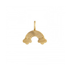 STINE A LOVE RAINBOW PENDANT GOLD