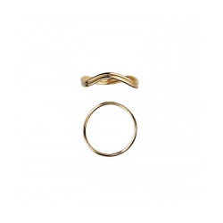 STINE A LOVE WAVE RING GOLD