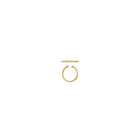 STINE A OPEN TWO DOTS RING GOLD