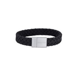 SON OF NOA SON bracelet black calf leather 21cm 12mm