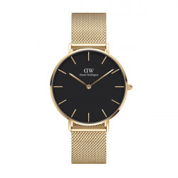 DANIEL WELLINGTON PETITE EVERGOLD 36 (BLACK)
