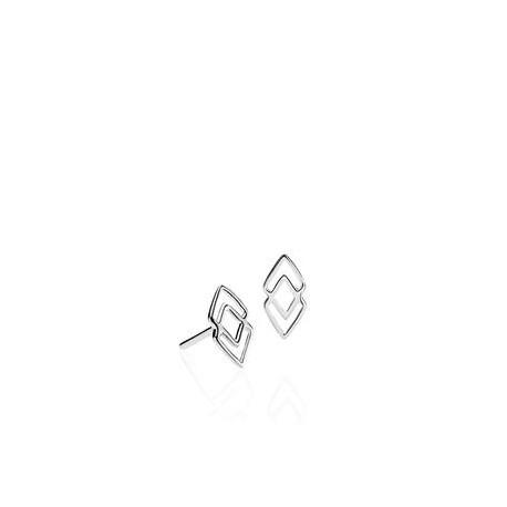 IZABEL CAMILLE - DNA - Ørestikkere Sølv