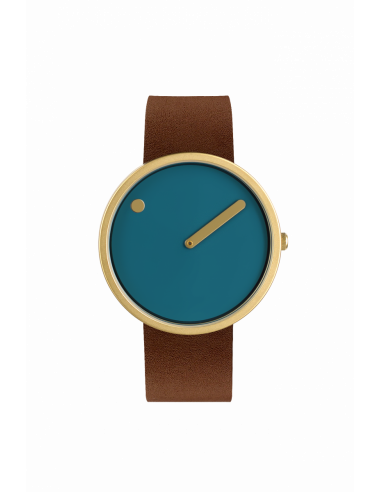 PICTO - 40 MM DUSTY BLUE/MAT GULD