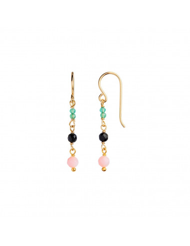 STINE A PETIT STONE EARRING ON HOOK -...