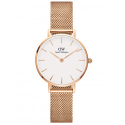 DANIEL WELLINGTON PETITE MELROSE WHITE ROSE
